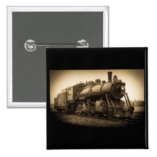 Canadian National Railroad Engine 2128 15 Cm Square Badge