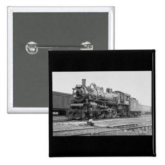 Canadian National Railroad Engine 5078 15 Cm Square Badge