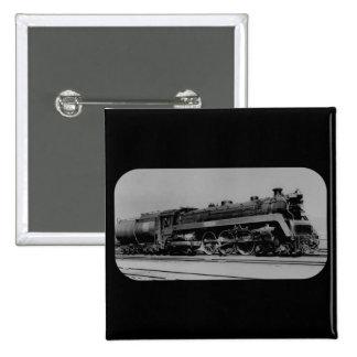 Canadian National Railroad Engine 5700 Toronto 15 Cm Square Badge