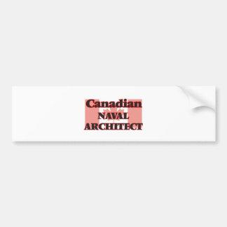 Canadian Naval Architect Bumper Sticker
