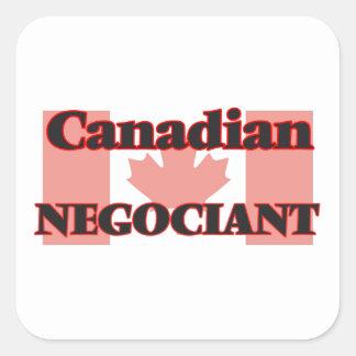 Canadian Negociant Square Sticker
