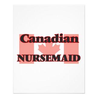 Canadian Nursemaid 11.5 Cm X 14 Cm Flyer