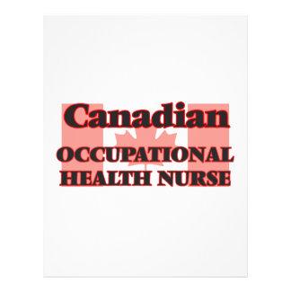Canadian Occupational Health Nurse 21.5 Cm X 28 Cm Flyer