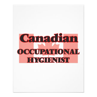 Canadian Occupational Hygienist 11.5 Cm X 14 Cm Flyer