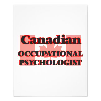 Canadian Occupational Psychologist 11.5 Cm X 14 Cm Flyer
