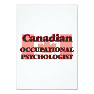 Canadian Occupational Psychologist 13 Cm X 18 Cm Invitation Card