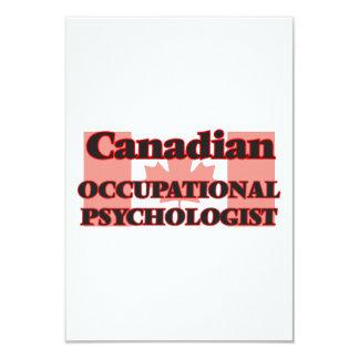 Canadian Occupational Psychologist 9 Cm X 13 Cm Invitation Card