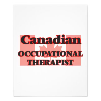 Canadian Occupational Therapist 11.5 Cm X 14 Cm Flyer