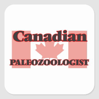 Canadian Paleozoologist Square Sticker
