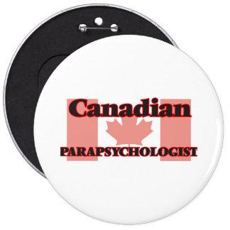 Canadian Parapsychologist 6 Cm Round Badge