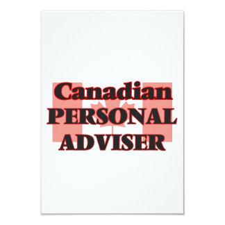 Canadian Personal Adviser 9 Cm X 13 Cm Invitation Card