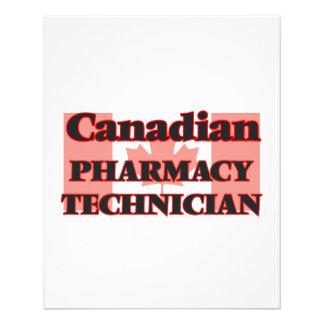 Canadian Pharmacy Technician 11.5 Cm X 14 Cm Flyer