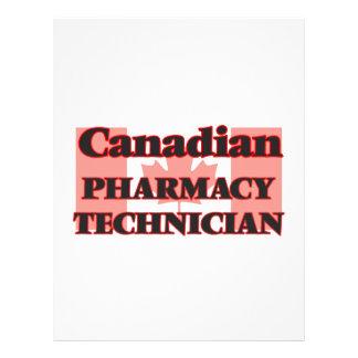 Canadian Pharmacy Technician 21.5 Cm X 28 Cm Flyer