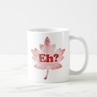 Canadian Pride Maple Leaf Coffee Mug