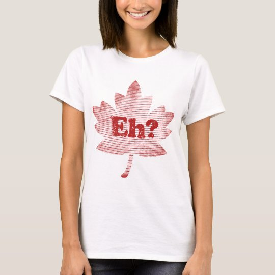 Canadian Pride Maple Leaf T-Shirt