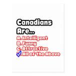 Canadian Pride Quiz Postcards