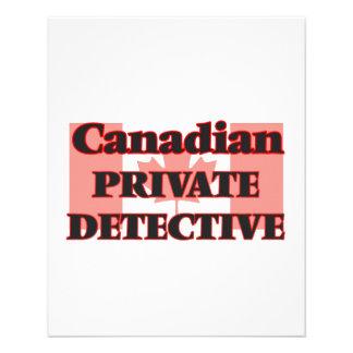 Canadian Private Detective 11.5 Cm X 14 Cm Flyer