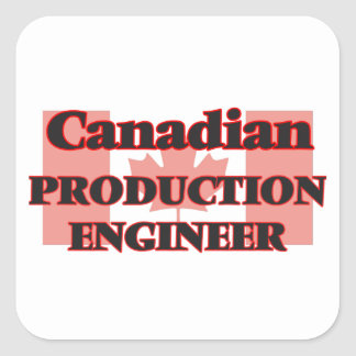 Canadian Production Engineer Square Sticker