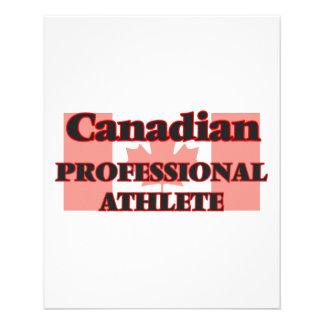 Canadian Professional Athlete 11.5 Cm X 14 Cm Flyer