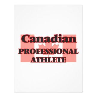 Canadian Professional Athlete 21.5 Cm X 28 Cm Flyer