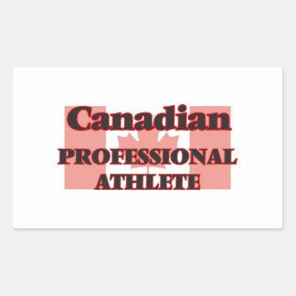 Canadian Professional Athlete Rectangular Sticker