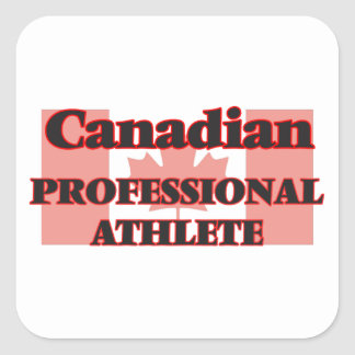 Canadian Professional Athlete Square Sticker