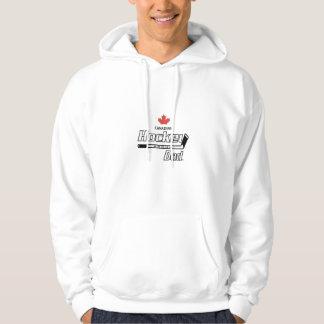 Canadian Proud Hockey Dad Hoodie