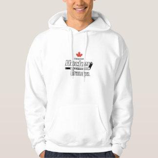 Canadian Proud Hockey Grandpa Hoodie