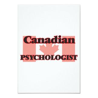 Canadian Psychologist 9 Cm X 13 Cm Invitation Card