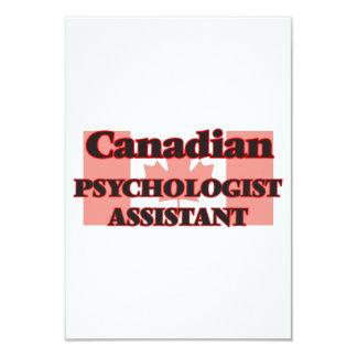 Canadian Psychologist Assistant 9 Cm X 13 Cm Invitation Card