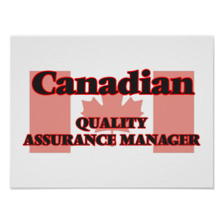 Canadian Quality Assurance Manager Poster