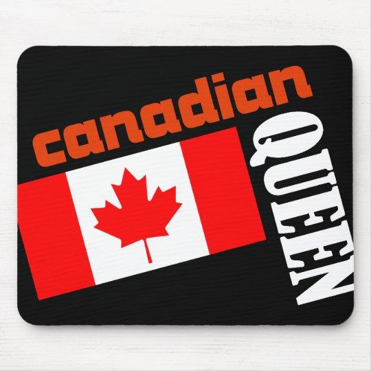 Canadian Queen & Flag Mouse Mat