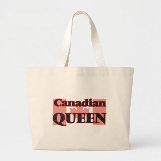 Canadian Queen Jumbo Tote Bag
