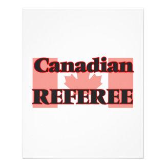 Canadian Referee 11.5 Cm X 14 Cm Flyer