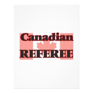 Canadian Referee 21.5 Cm X 28 Cm Flyer