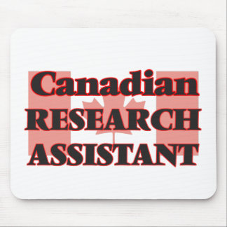 Canadian Research Assistant Mouse Pad