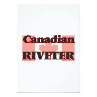 Canadian Riveter 13 Cm X 18 Cm Invitation Card