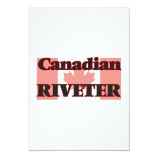 Canadian Riveter 9 Cm X 13 Cm Invitation Card