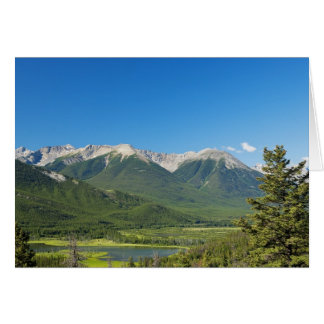 Canadian Rockies Note Greeting Card