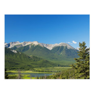 Canadian Rockies Post Card