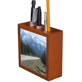 Canadian Rocky Mountains Desk Organiser