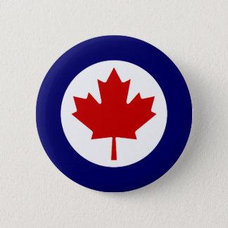 Canadian Roundel 6 Cm Round Badge