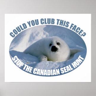Canadian Seal Hunt Poster