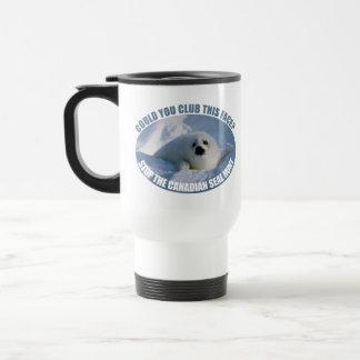 Canadian Seal Hunt Travel Mug