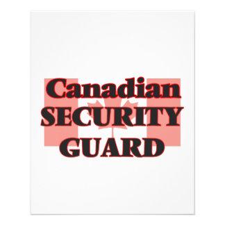 Canadian Security Guard 11.5 Cm X 14 Cm Flyer