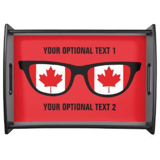 Canadian Shades custom serving trays