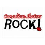 Canadian Skaters Rock! Postcards