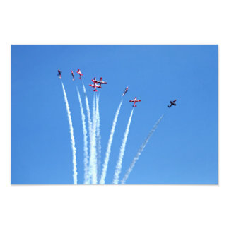 Canadian Snowbirds Planes Photo Art