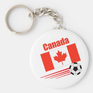 Canadian Soccer Team Key Ring