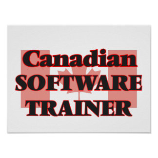 Canadian Software Project Manager Poster